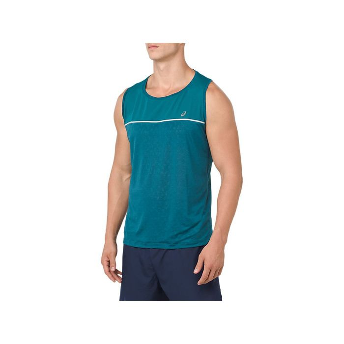 Musculosa-Asics-Cool-Singlet----Masculino---Verde