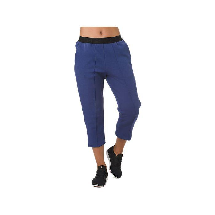 Pantalones-Asics-Capri----Femenino---Azul