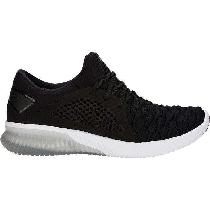 Zapatillas-Asics-GEL-Kenun-Knit-MX---Femenino---Negro